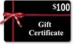 Gift Certificates $100 Value