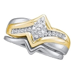 Mens Diamond Ring Natural Round/Marquise 0.19 Carats Diamond Solid 10Kt Yellow Gold Hip Hop Ring