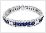 Gemstone Tennis Bracelets