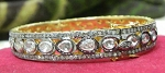 Vintage Diamond Bracelet 6 Ct Uncut Natural Certified Diamond 925 Sterling Silver Everyday