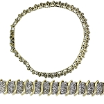 Eternity Bracelets 5.55 Ct Natural Untreated Diamond Solid Gold Natural Certified