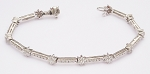 Beautiful Diamond Bracelets 2.65 Ct Natural Untreated Solid Gold Natural Certified