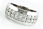 1.65 Ct Natural Untreated Diamond Solid Gold Men'S Ring Certified