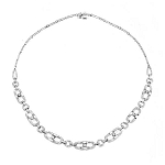 Solitaire Necklace White Gold 3.5 Ct Natural Certified Diamond Solid Gold String Engagement