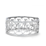 Bracelets for Women 6.25 Ct Natural Diamond Solid Gold Natural Certified