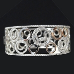 Beautiful Diamond Bracelets 6 Ct Solid Gold Natural Certified
