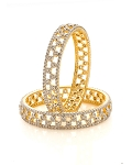 Single line diamond bangle Pair 10.26 Ct Natural Untreated Solid Gold Natural Certified