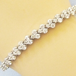 Beautiful Diamond Bracelets 5.2 Ct Natural Untreated Diamond Solid Gold Natural Certified