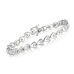 Beautiful Diamond Bracelets 1.5 Ct Natural Untreated Diamond Solid Gold Natural Certified