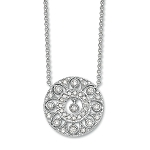Fine Necklace & Pendant 0.8 Ct Diamond Solid Gold Natural Certified