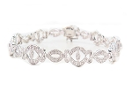 Bracelets for Women 2.42 Ct Natural Untreated Diamond Solid Gold Natural Certified