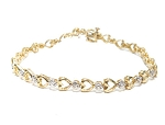 Beautiful Diamond Bracelets 1.15 Ct Natural Untreated Solid Gold Natural Certified