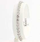 Bracelets for Women 1.8 Ct Natural Untreated Diamond Solid Gold Natural Certified