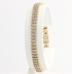 Eternity Bracelets 4.5 Ct Natural Untreated Diamond Solid Gold Natural Certified
