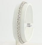 Bracelets for Women 3.8 Ct Natural Untreated Diamond Solid Gold Natural Certified