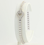 Beautiful Diamond Bracelets 2.52 Ct Natural Untreated Solid Gold Natural Certified