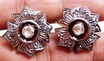 Antique Diamond Earrings 0.95 Ct Uncut Natural Certified Diamond 925 Sterling Silver Engagement