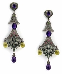 Victorian Earrings 2.02 Ct Uncut Natural Certified Diamond 925 Sterling Silver Weekend