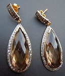 Antique Diamond Earrings 1.6 Ct Uncut Natural Certified Diamond 925 Sterling Silver Everyday