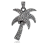 Victorian Diamond Pendant 1.56 Ct Uncut Natural Certified Diamond 925 Sterling Silver Vacation
