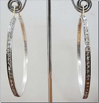 Victorian Earrings 3 Ct Uncut Natural Certified Diamond 925 Sterling Silver Weekend