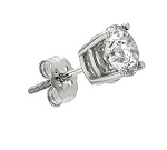 0.25 Carat Natural Diamond Gold Earrings For Men'S Single Pcs