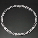 Necklace for Womens 10.60 Ct Natural Certified Diamond Solid Gold Wedding Choker