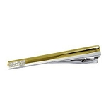 0.28 Ct Natural Round Diamond solid Yellow Gold Men Tie Pin