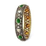 Vintage Bangles 8.55 Ct Uncut Natural Certified Diamond 925 Sterling Silver Special Occasion