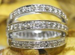 Victorian Engagement Rings 1.00 Ct Natural Certified Diamond 925 Sterling Silver BWeekend
