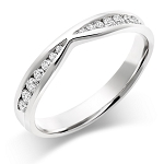Diamond Ring For Ladies 0.45 Ct Natural Certified Diamond Solid White Gold Designer Festive