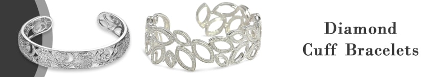 diamond cuff bracelets price