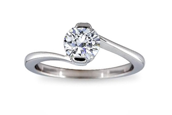 diamond solitaire rings price