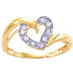 Diamond Ring Designs For Female Natural Round Certified Diamond 0.16 Ct Solid Gold  Special Occasion