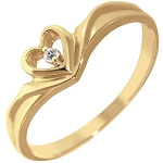 Buy Diamond Ring Online Natural Round Certified Diamond 0.13 Ct Solid Gold  Workwear