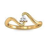 Buy Diamond Ring Online Natural Round Certified Diamond 0.07 Ct Solid Gold  Vacation