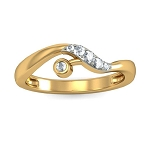 Diamond Ring Designs For Female Natural Round Certified Diamond 0.11 Ct Solid Gold  Weekend