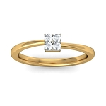 Buy Diamond Ring Online Natural Round Certified Diamond 0.06 Ct Solid Gold  Party