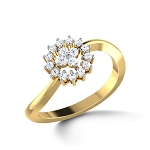 Buy Diamond Ring Online Natural Round Certified Diamond 0.24 Ct Solid Gold  Vacation