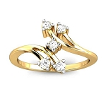 Buy Diamond Ring Online Natural Round Certified Diamond 0.11 Ct Solid Gold  Party