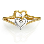 Best Diamond Rings Natural Round Certified Diamond 0.05 Ct Solid Gold  Vacation