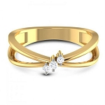 Buy Diamond Ring Online Natural Round Certified Diamond 0.1 Ct Solid Gold  Workwear
