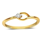Buy Diamond Ring Online Natural Round Certified Diamond 0.05 Ct Solid Gold  Special Occasion