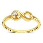 Buy Diamond Ring Online Natural Round Certified Diamond 0.04 Ct Solid Gold  Weekend