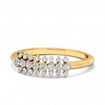 Buy Diamond Ring Online Natural Round Certified Diamond 0.28 Ct Solid Gold  Party