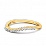 Best Diamond Rings Natural Round Certified Diamond 0.12 Ct Solid Gold  Vacation