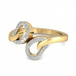 Buy Diamond Ring Online Natural Round Certified Diamond 0.3 Ct Solid Gold  Workwear