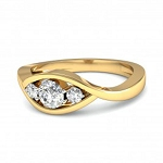 Beautiful Diamond Rings 0.50 Ct Natural Solitaire Round Certified Diamond Solid Gold Special Occasion