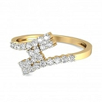 Buy Diamond Ring Online Natural Round Certified Diamond 0.36 Ct Solid Gold  Festive