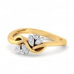 Best Diamond Rings Natural Round Certified Diamond 0.15 Ct Solid Gold  Everyday